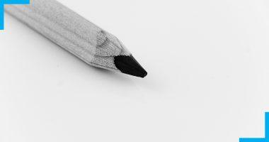 Image démontrant la pointe d'un crayon